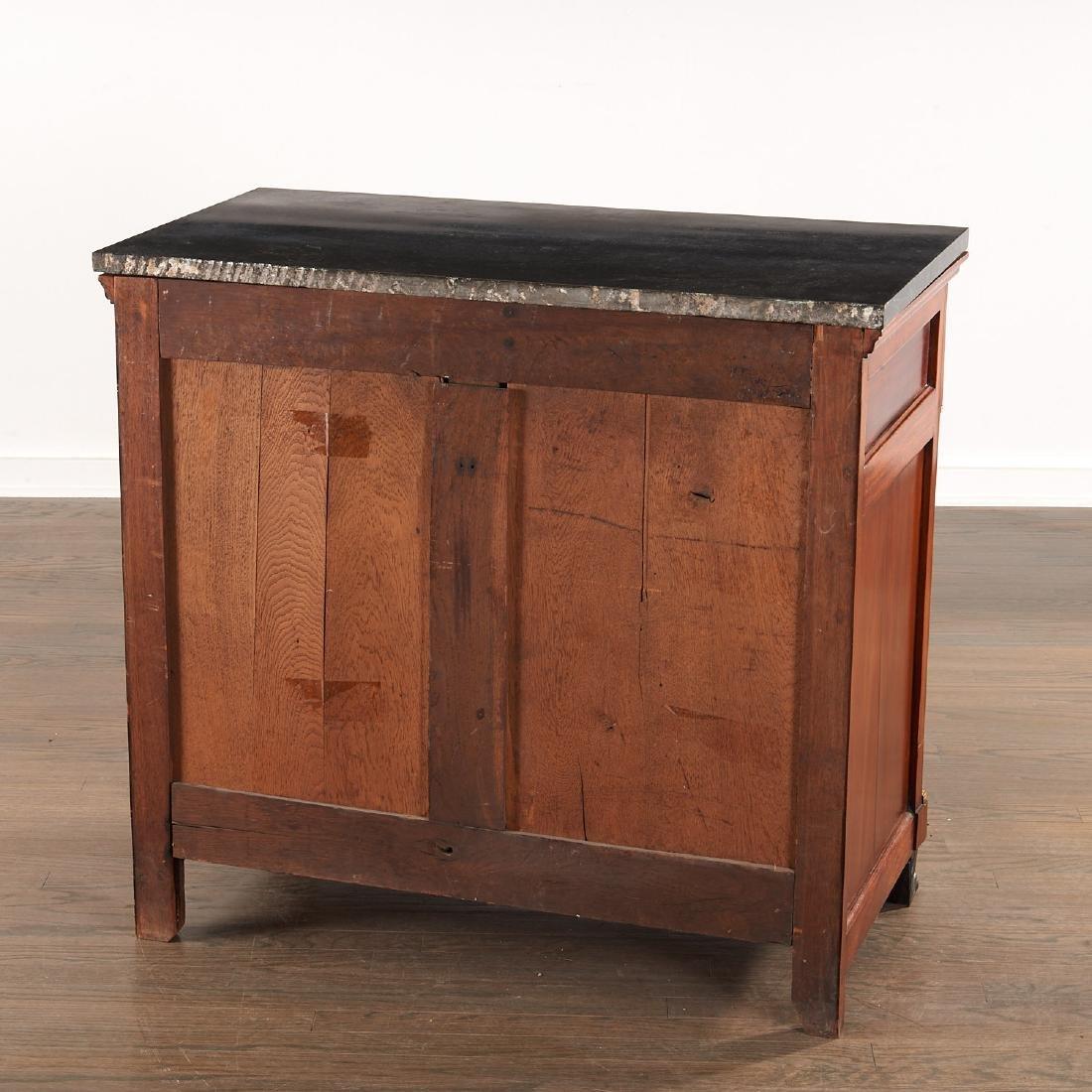 Regency style mahogany cabinet - 7