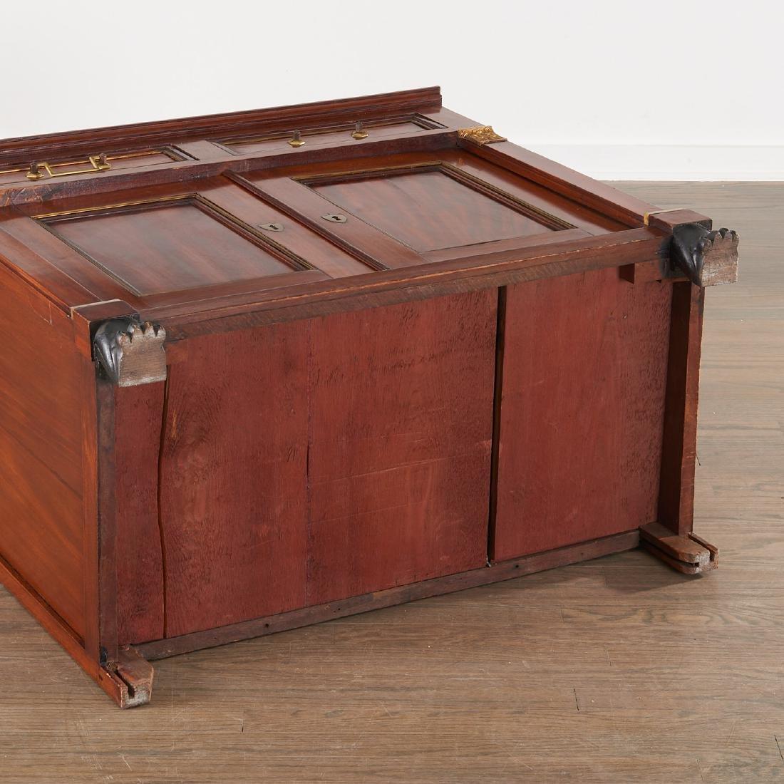Regency style mahogany cabinet - 8