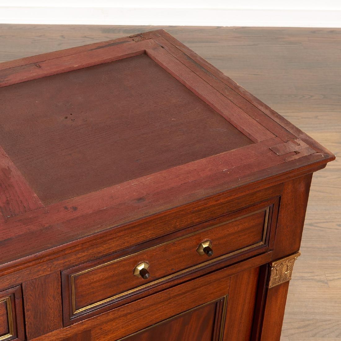 Regency style mahogany cabinet - 9