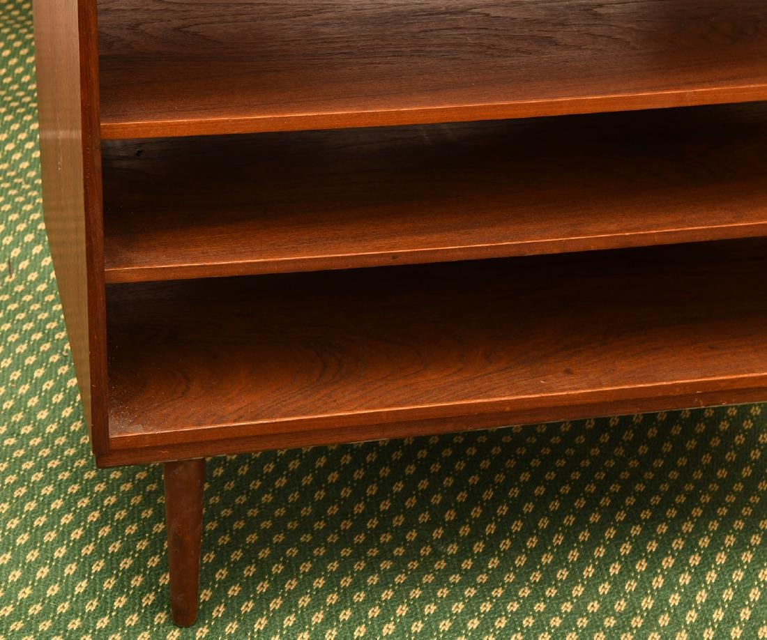 Danish teak open bookshelf - 2