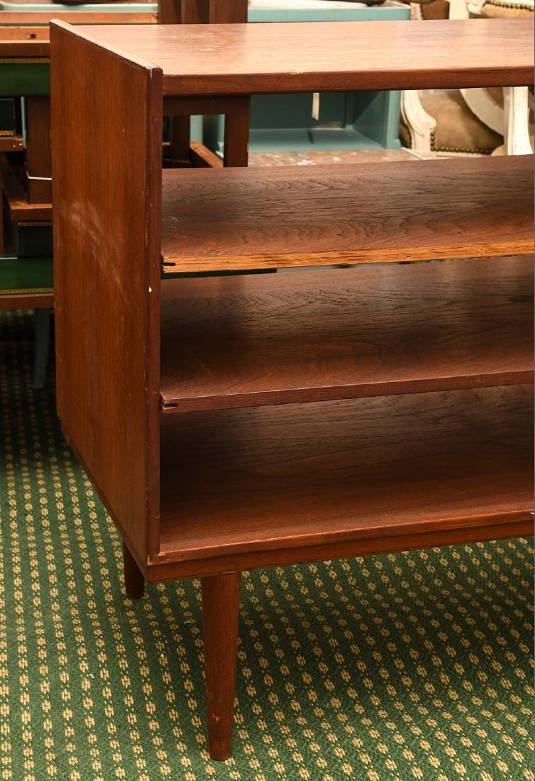 Danish teak open bookshelf - 5
