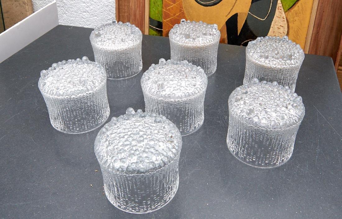 Set (7) Tapio Wirkkala for Iittala tumblers - 2
