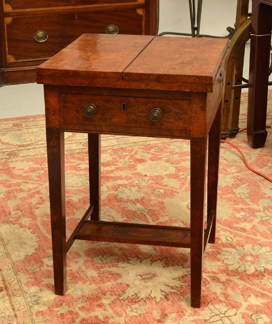 Antique Hepplewhite writing table