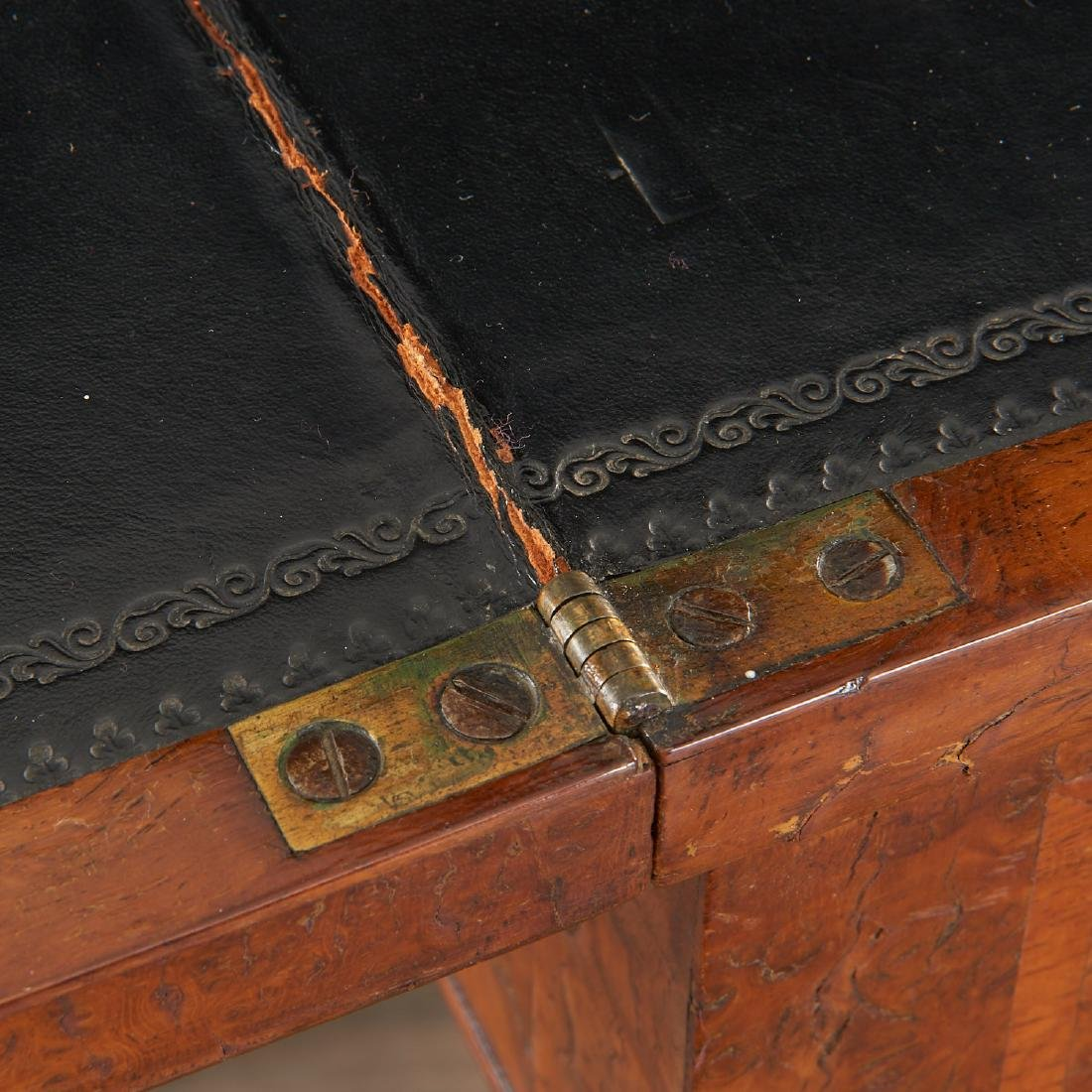 Antique Hepplewhite writing table - 7