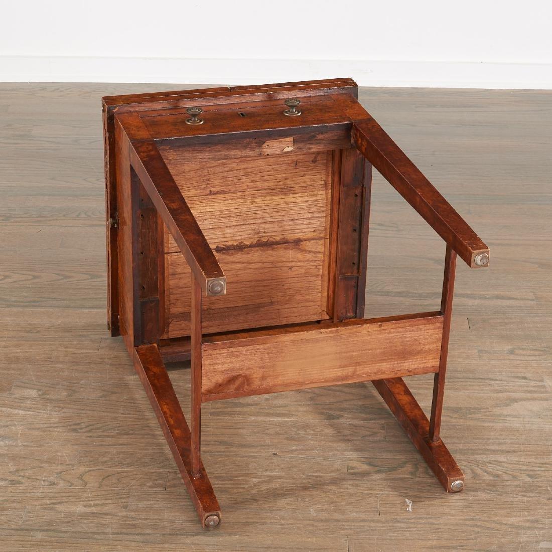 Antique Hepplewhite writing table - 9