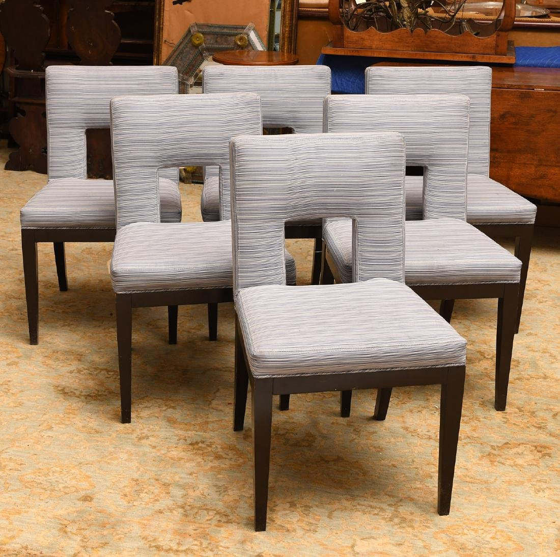 Set (6) Artistic Frame dining chairs