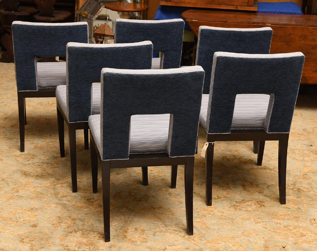 Set (6) Artistic Frame dining chairs - 3
