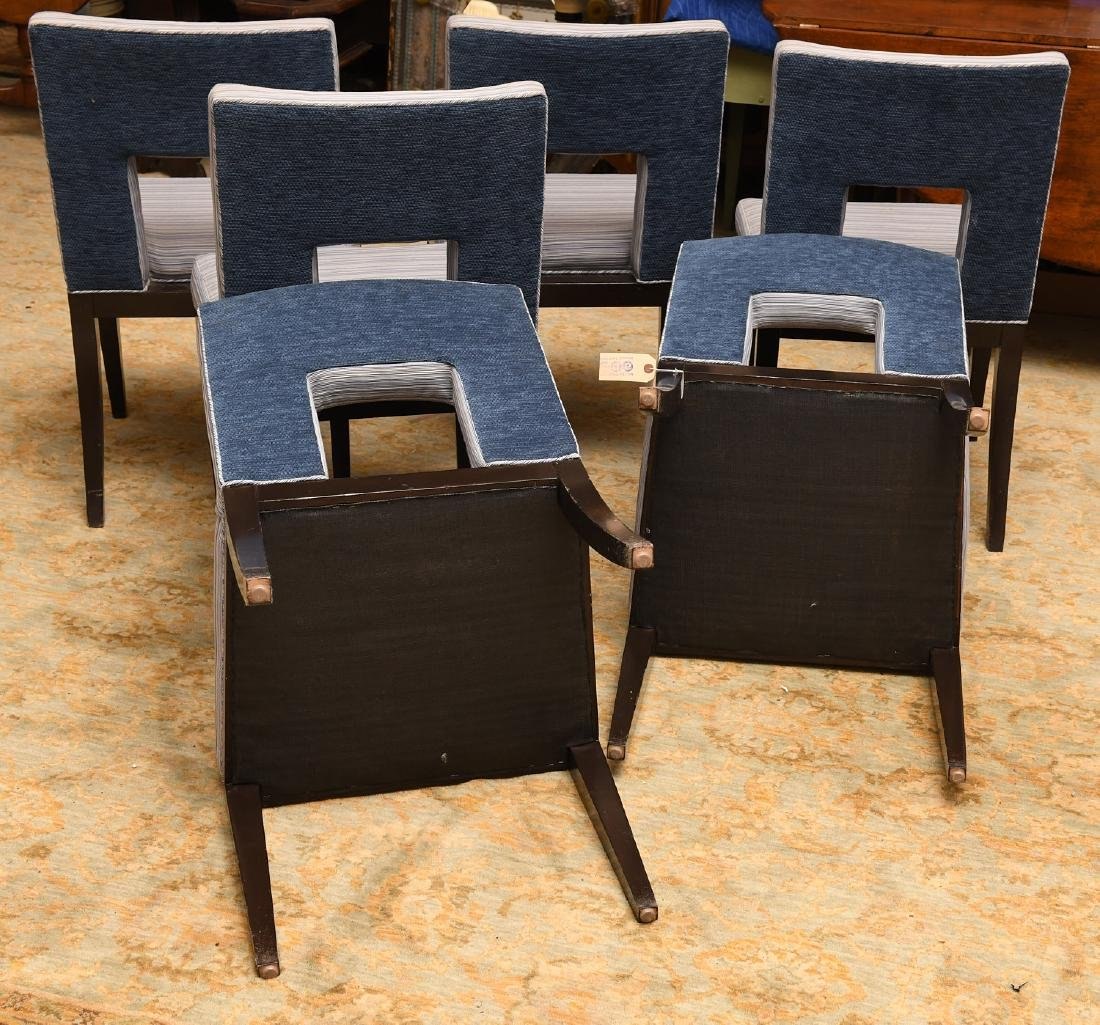Set (6) Artistic Frame dining chairs - 5