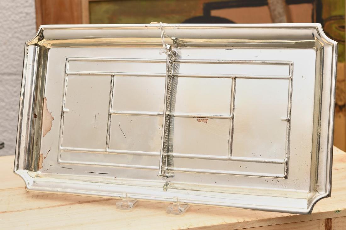 Valenti silver plate tennis theme dresser tray