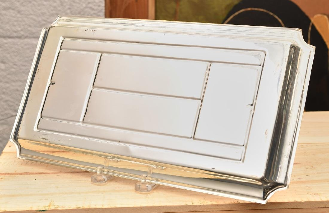 Valenti silver plate tennis theme dresser tray - 5