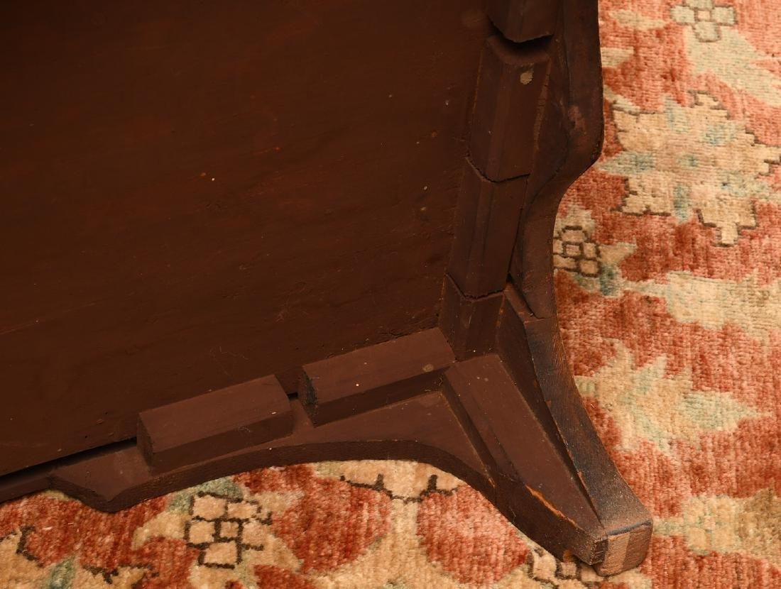 George III mahogany inlaid chest of drawers - 10
