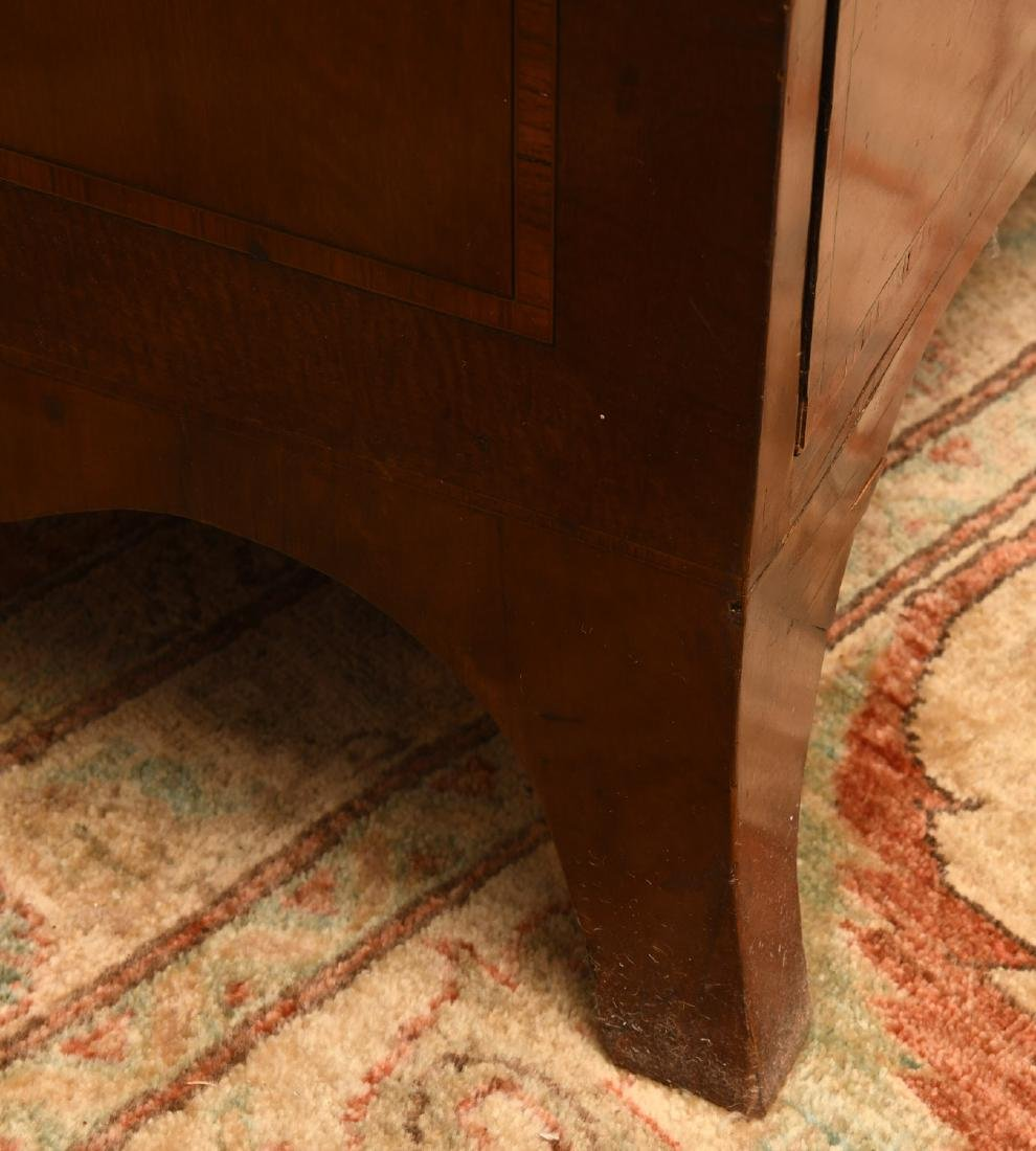 George III mahogany inlaid chest of drawers - 6