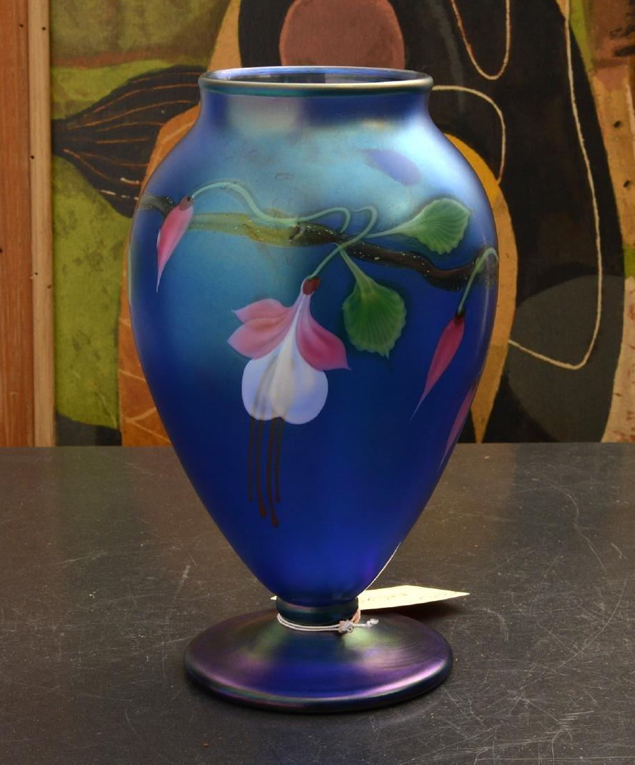 Orient & Flume Fuschia vase