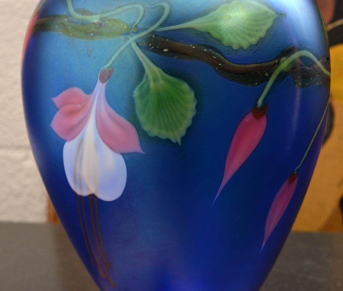 Orient & Flume Fuschia vase - 3
