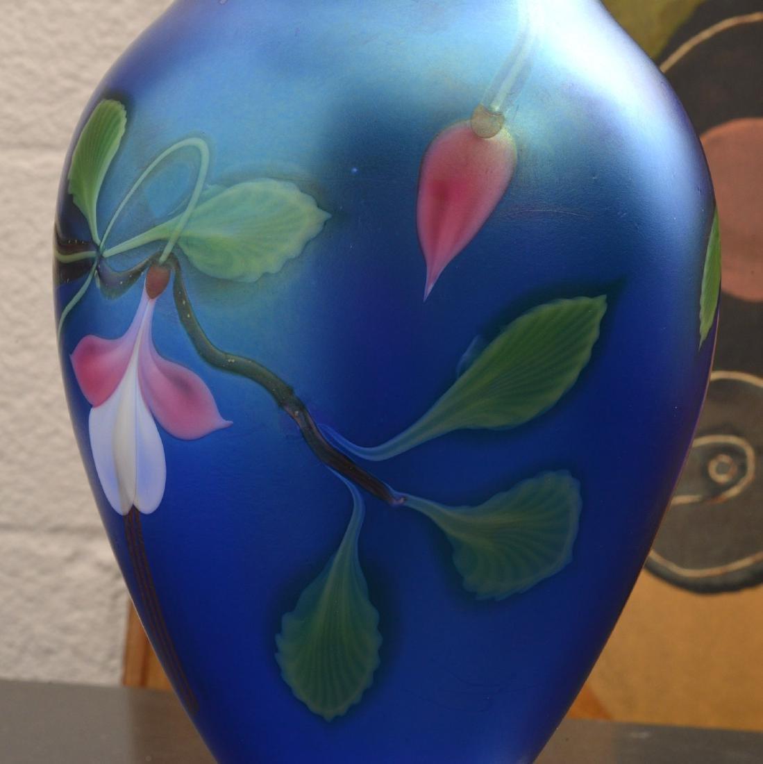 Orient & Flume Fuschia vase - 4