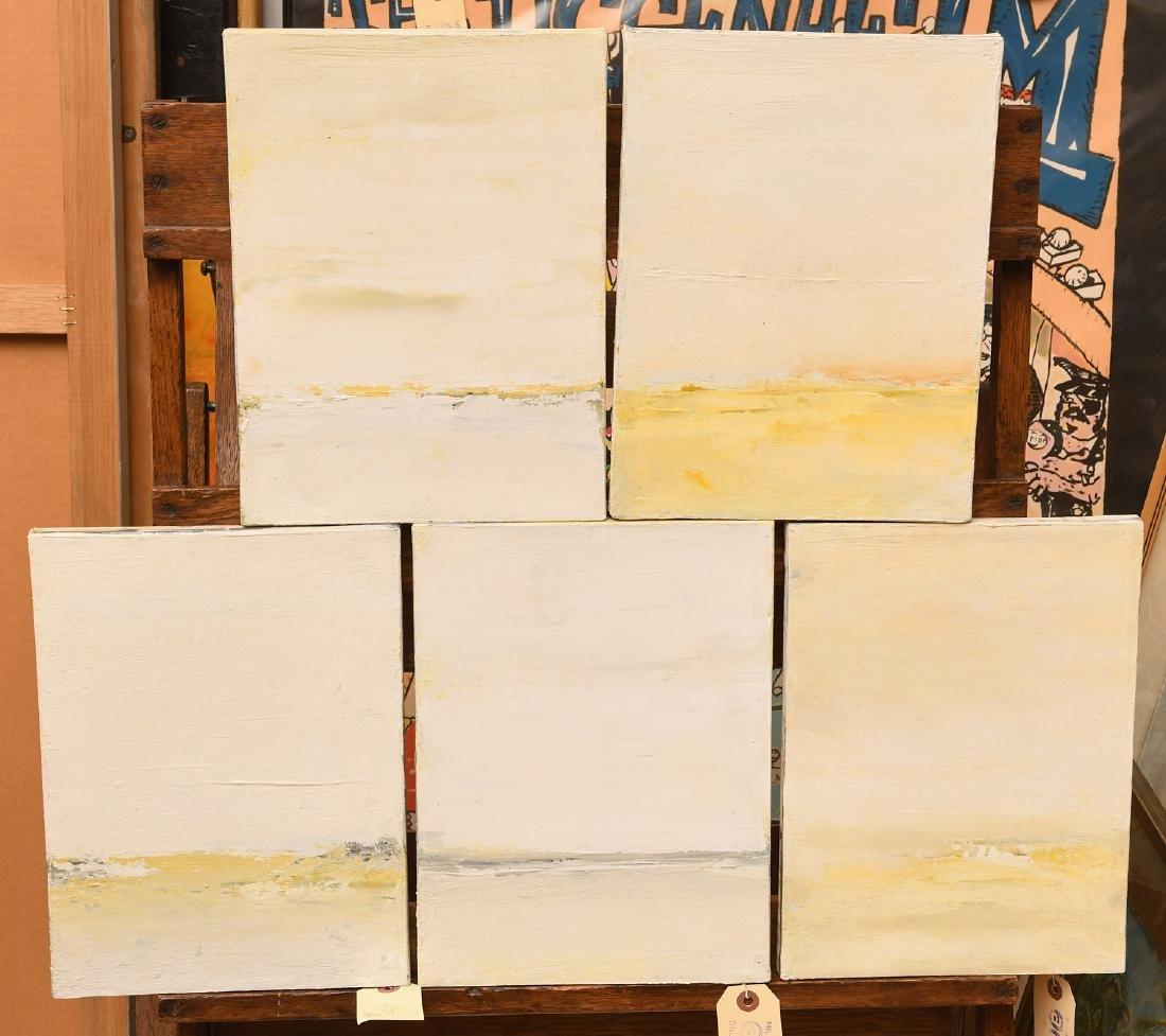 Luc Leestemaker, set (5) paintings