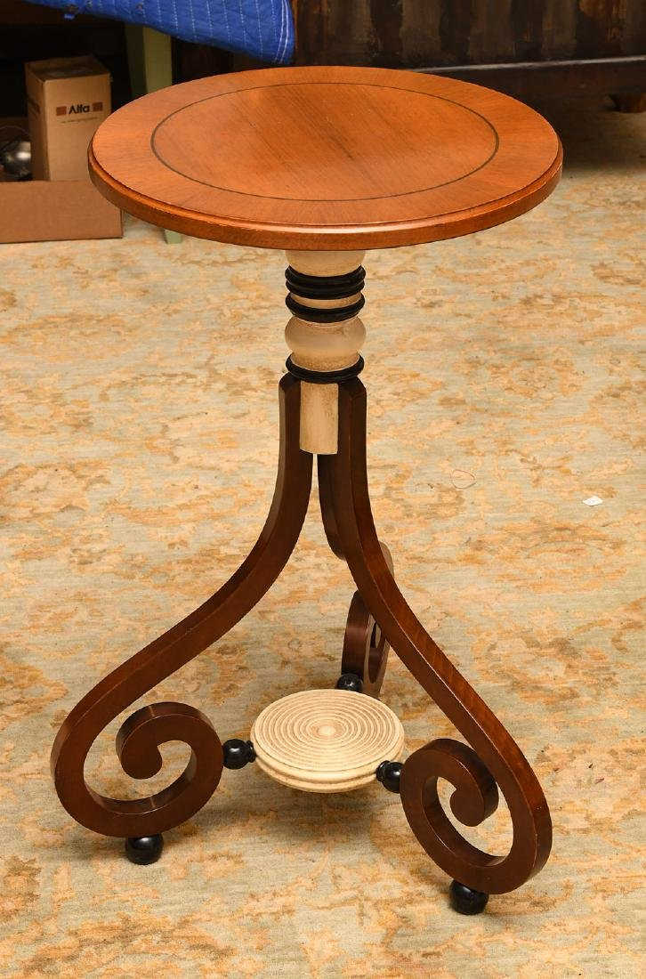Regency style occasional table