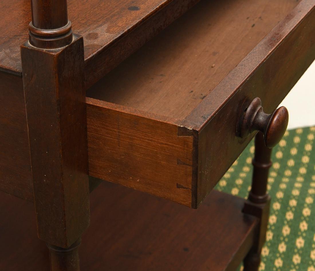 George III style lectern etagere - 4