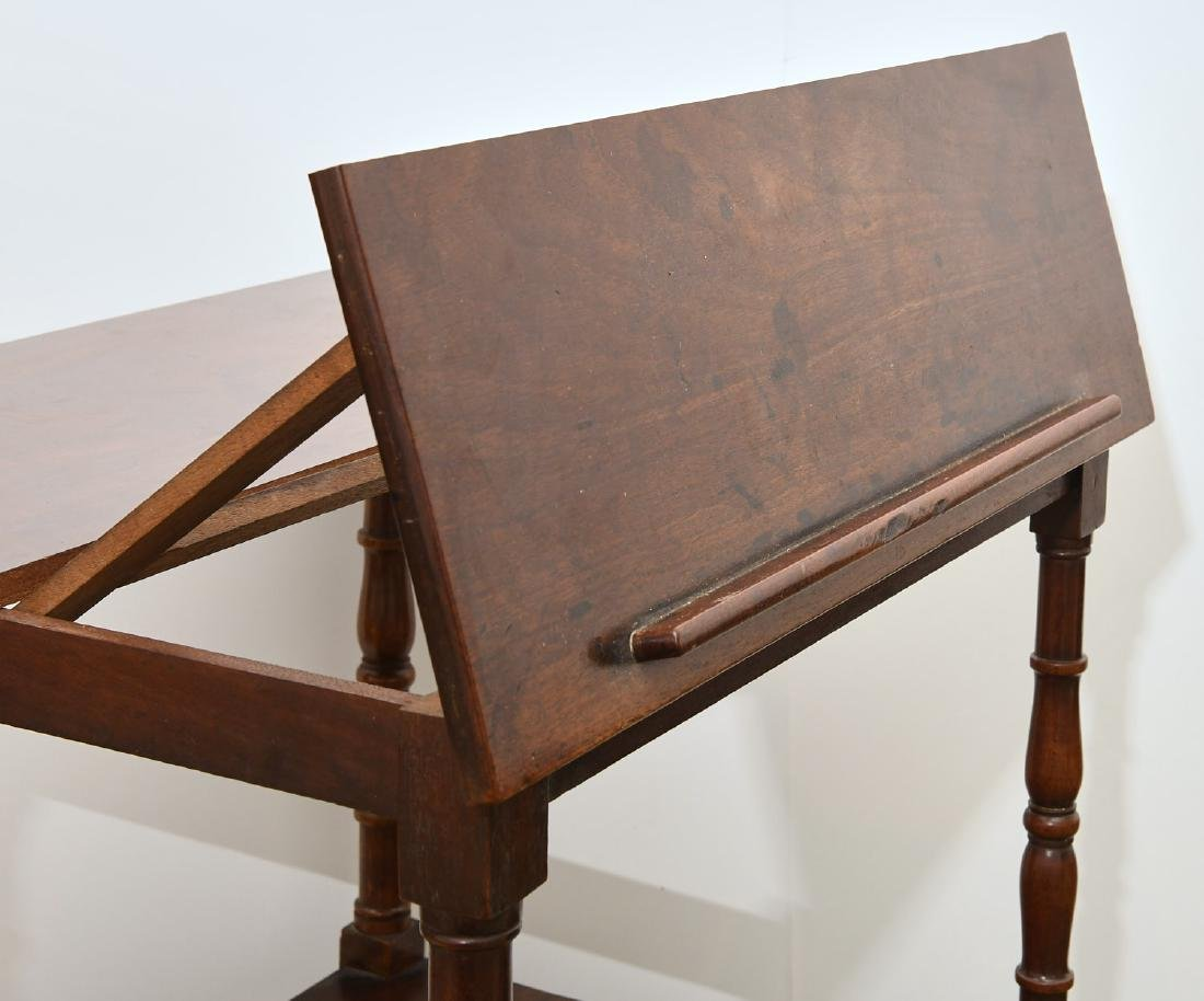 George III style lectern etagere - 6