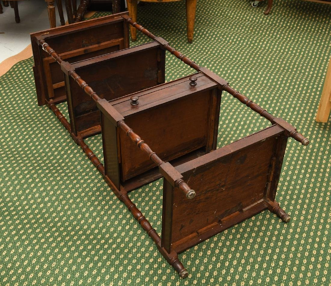 George III style lectern etagere - 9