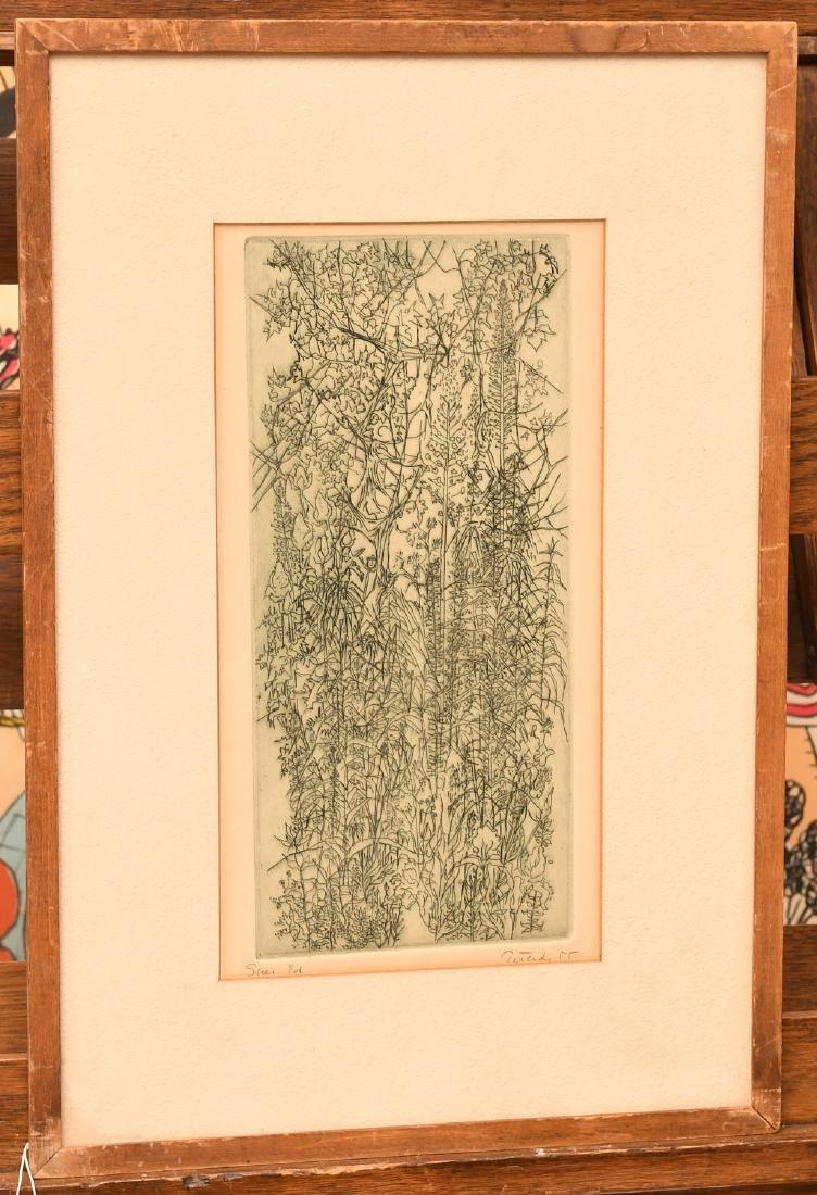Gabor Peterdi, etching