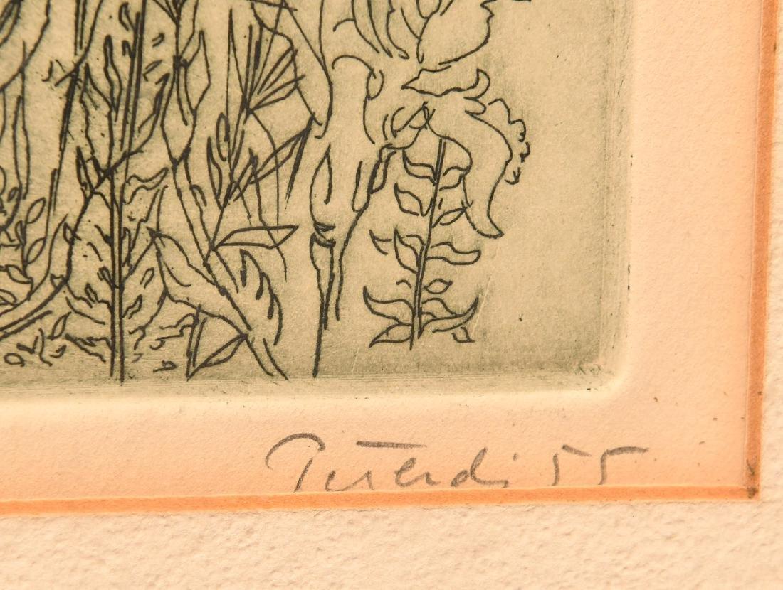Gabor Peterdi, etching - 7