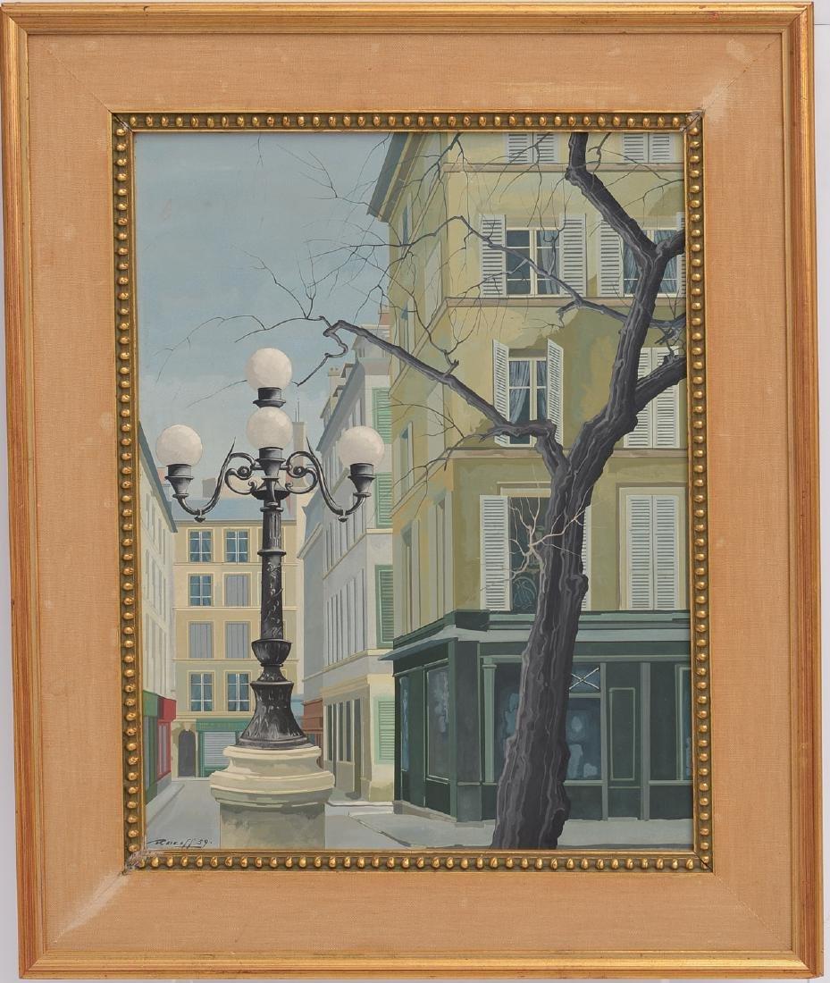 Rotasilan (Rotislaw) Racoff, painting