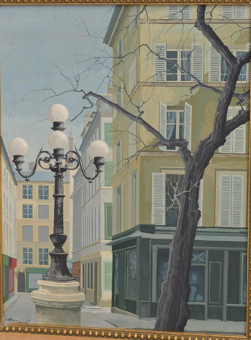 Rotasilan (Rotislaw) Racoff, painting - 2