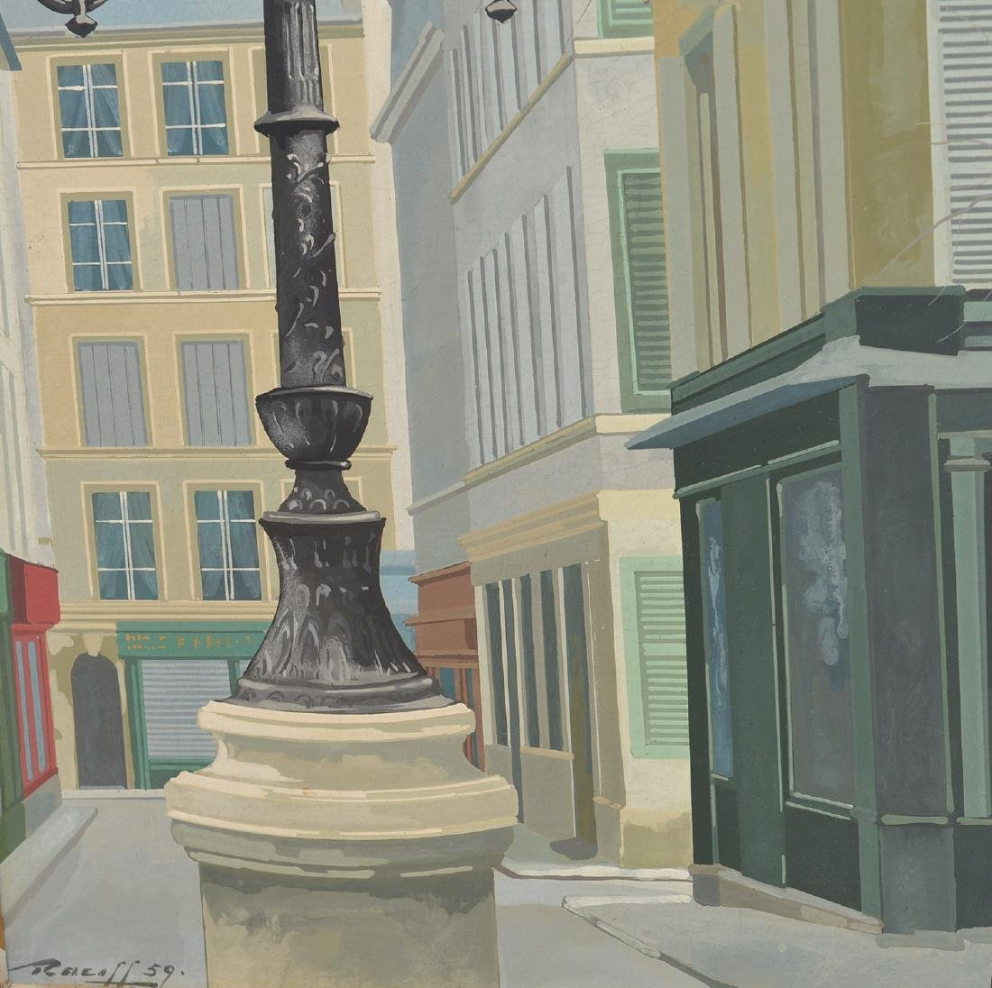 Rotasilan (Rotislaw) Racoff, painting - 4