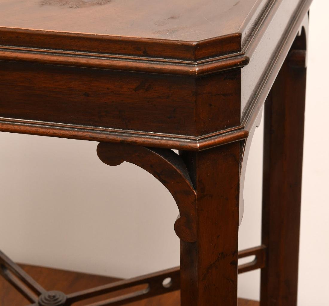 English Chippendale style tea table - 2