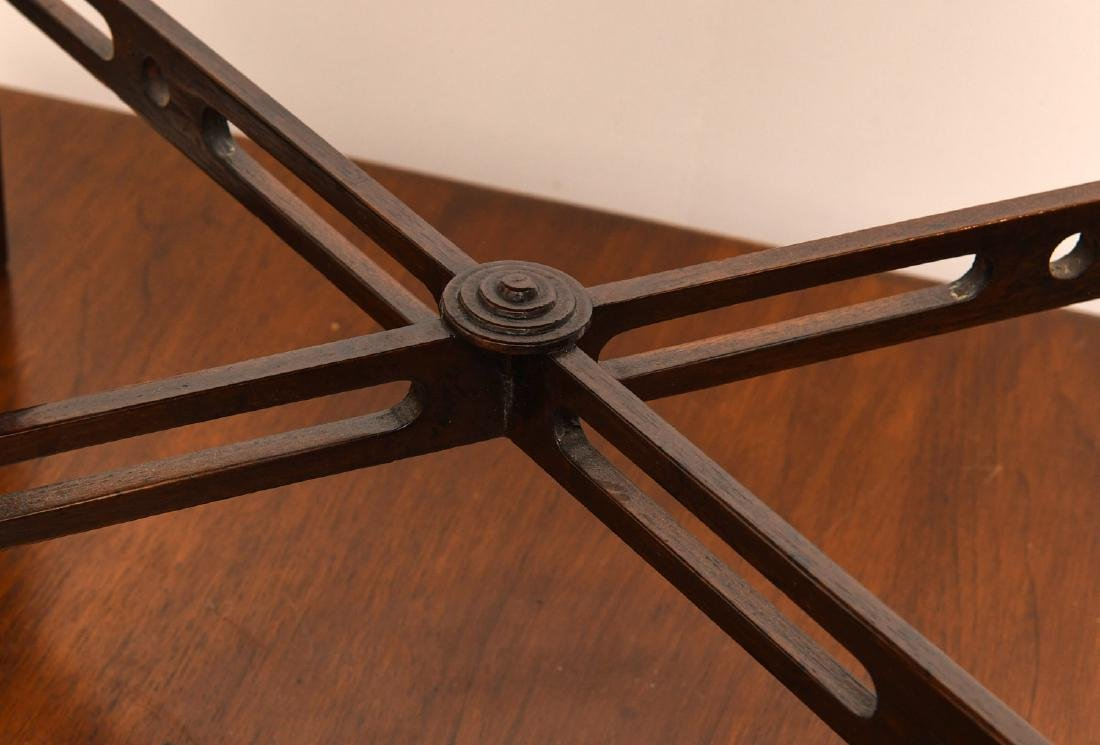 English Chippendale style tea table - 3