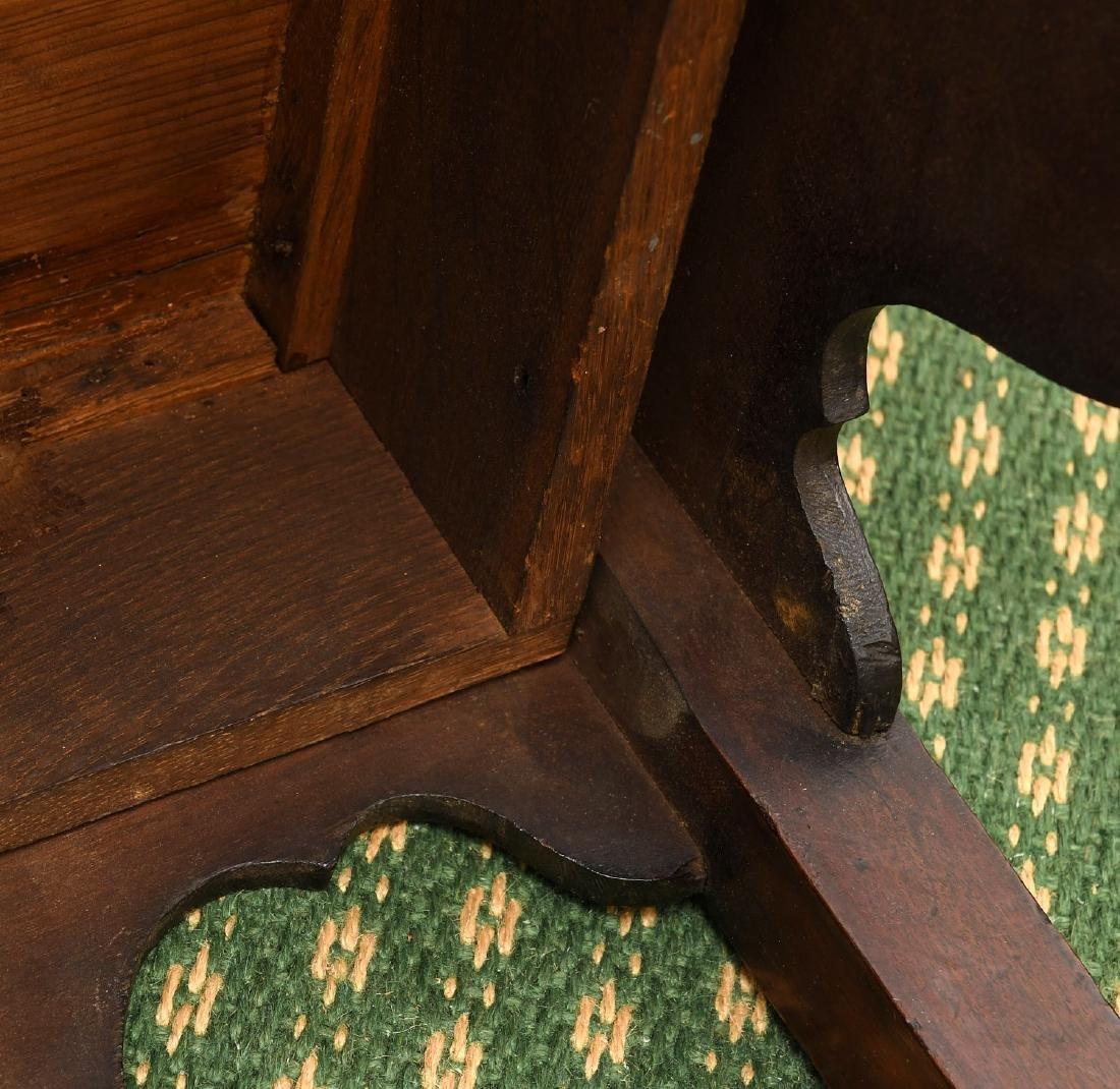 George III mahogany bedside commode - 10