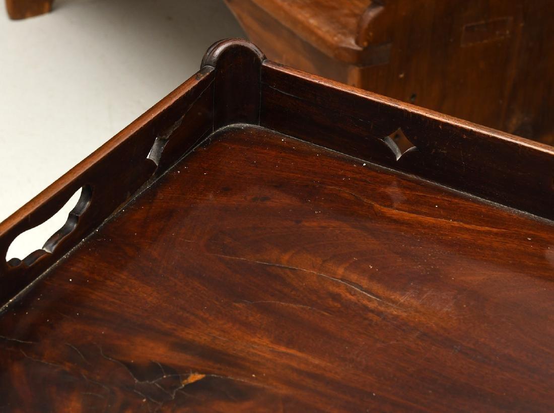 George III mahogany bedside commode - 2