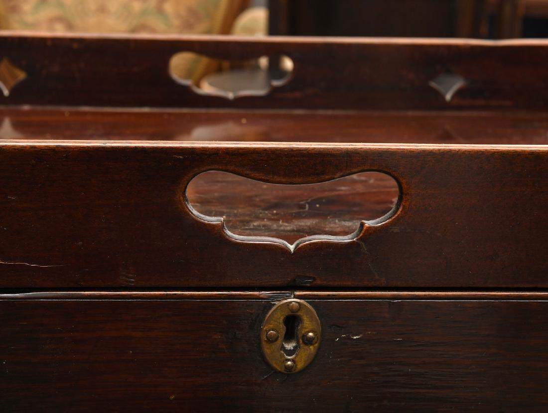 George III mahogany bedside commode - 3