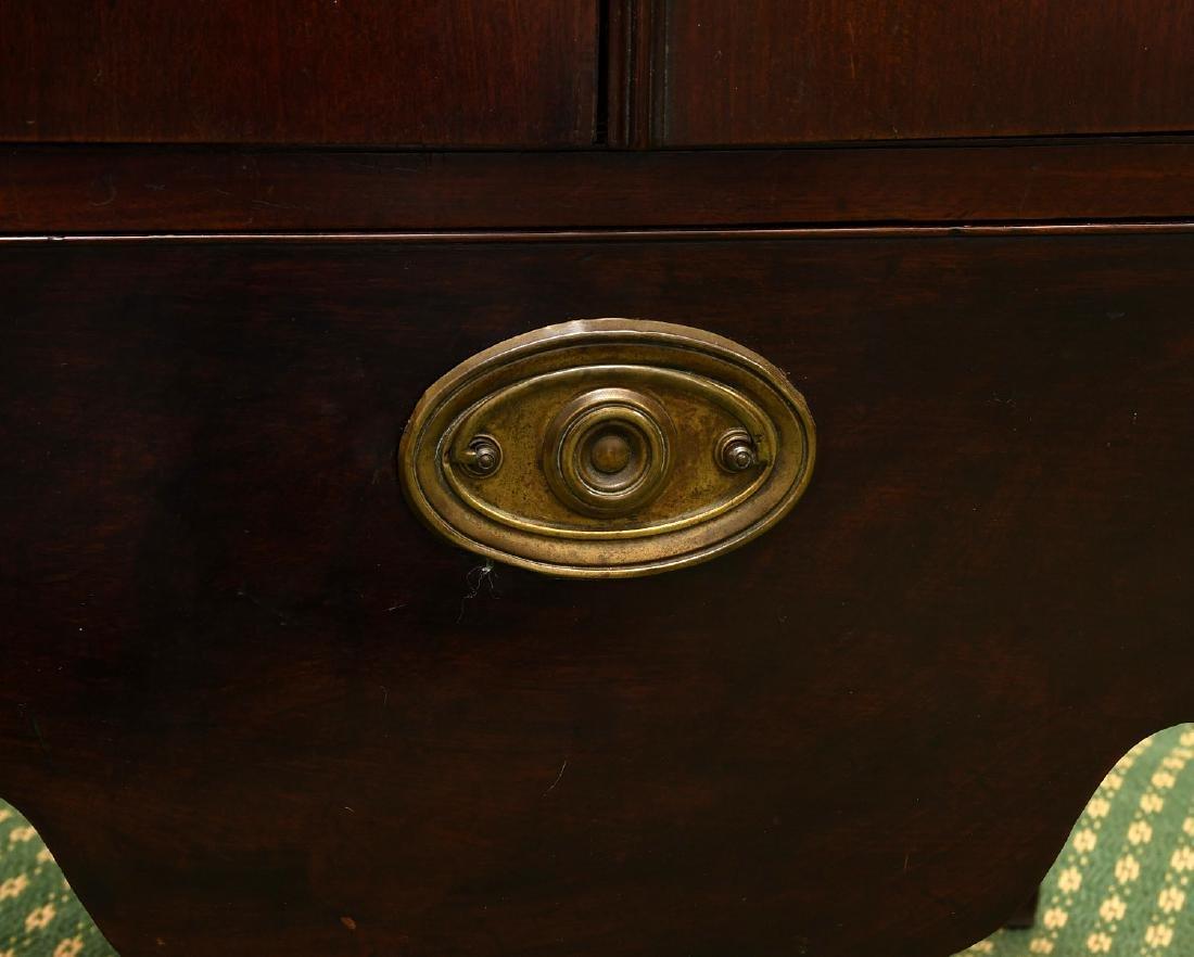 George III mahogany bedside commode - 4