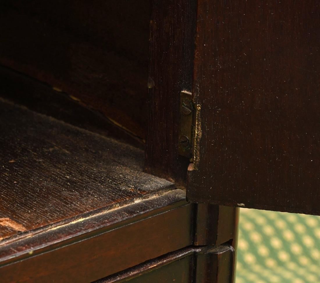 George III mahogany bedside commode - 6
