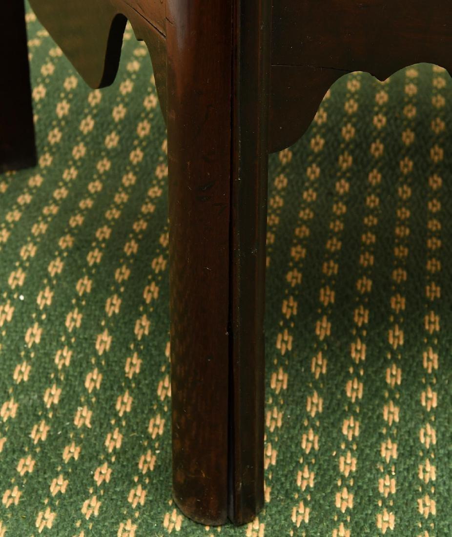 George III mahogany bedside commode - 7