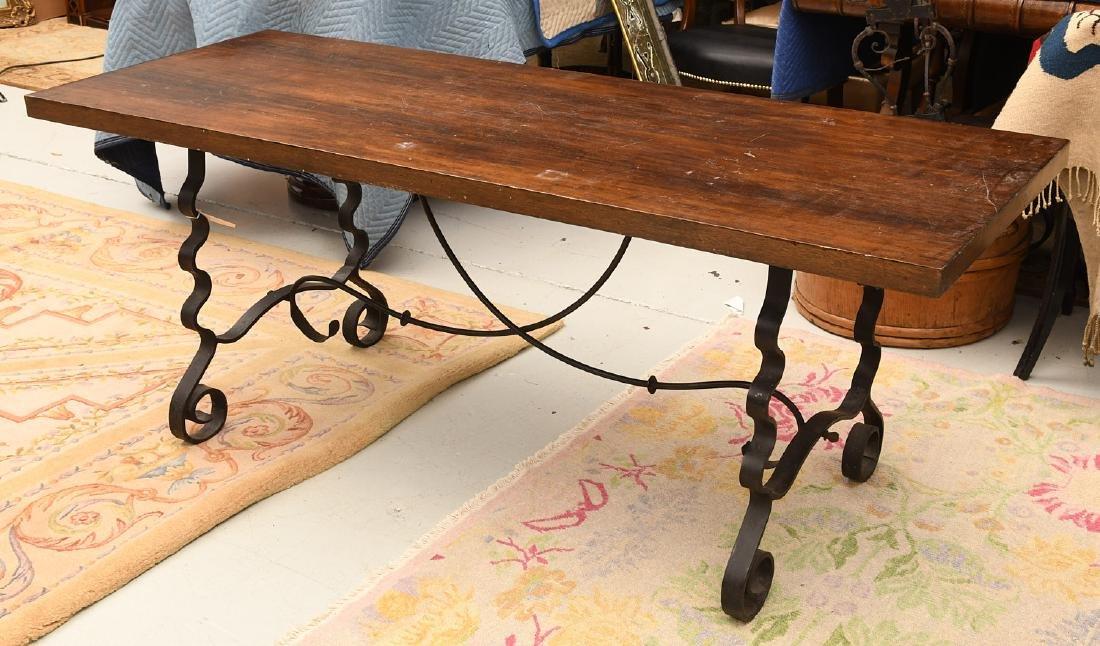 Spanish Baroque style trestle table