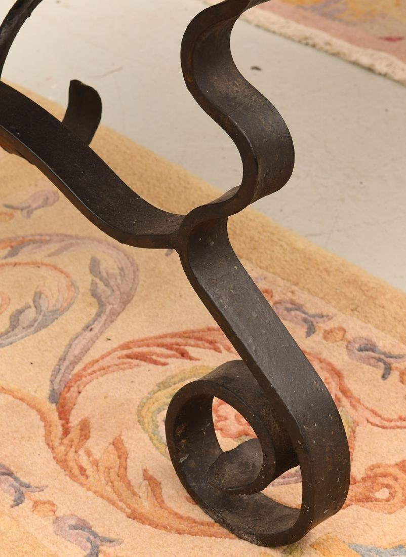 Spanish Baroque style trestle table - 3