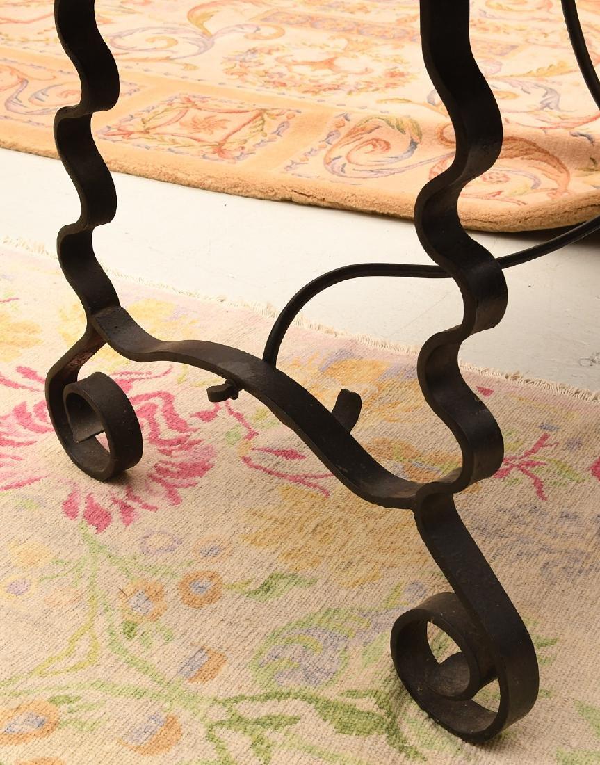 Spanish Baroque style trestle table - 4