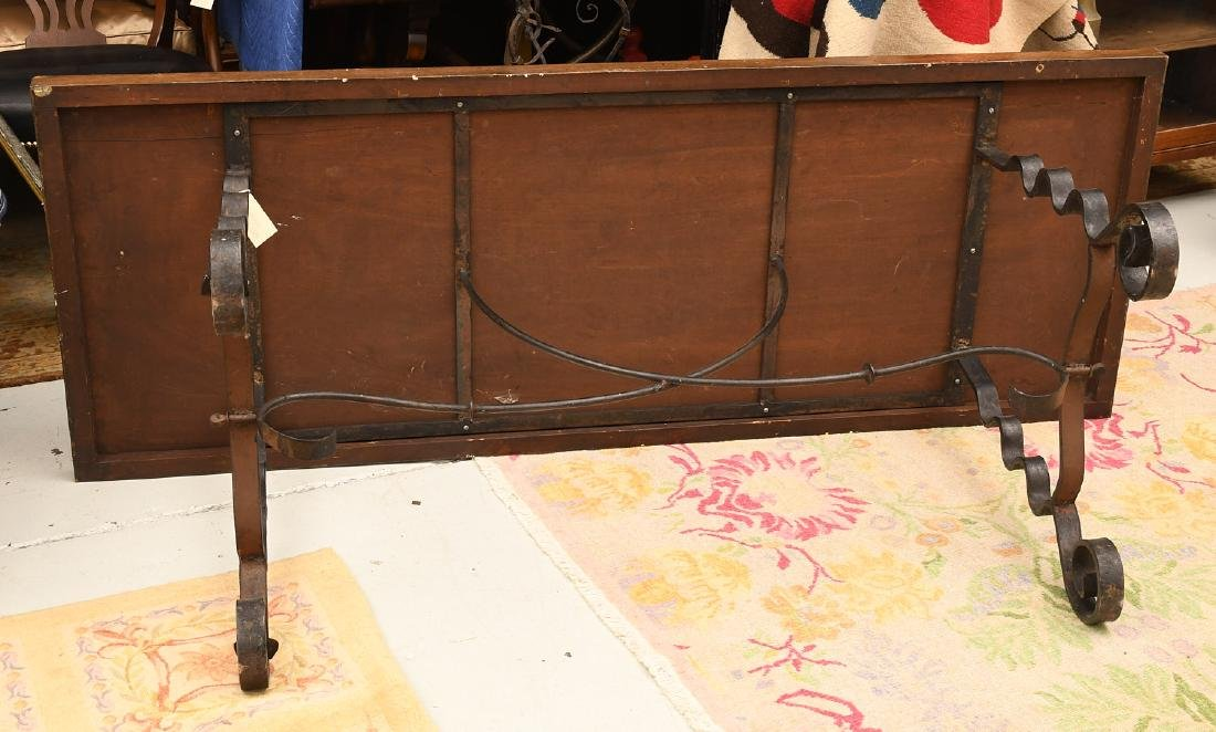 Spanish Baroque style trestle table - 5