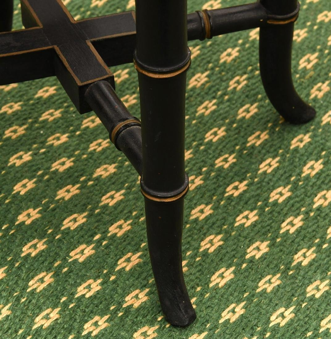 (2) Victorian style tray tables - 9