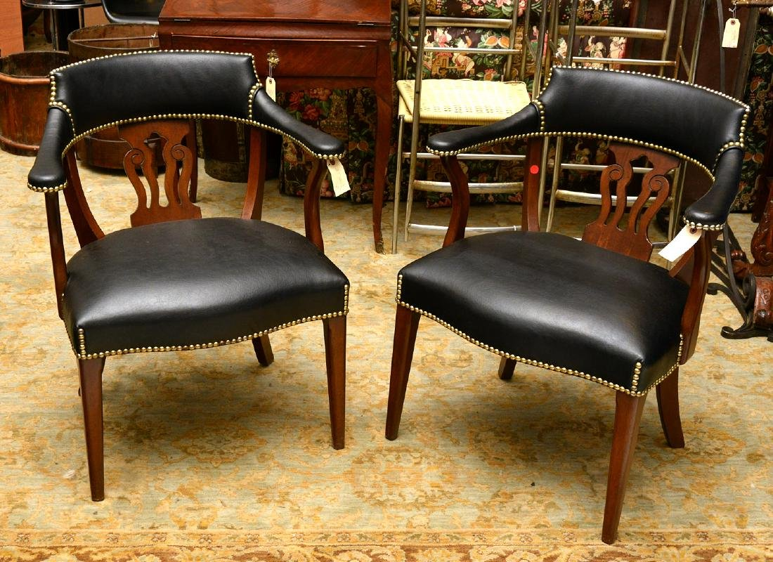 English captains chairs sourced by Jacques Grange