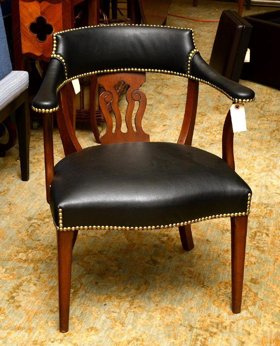 English captains chairs sourced by Jacques Grange - 2