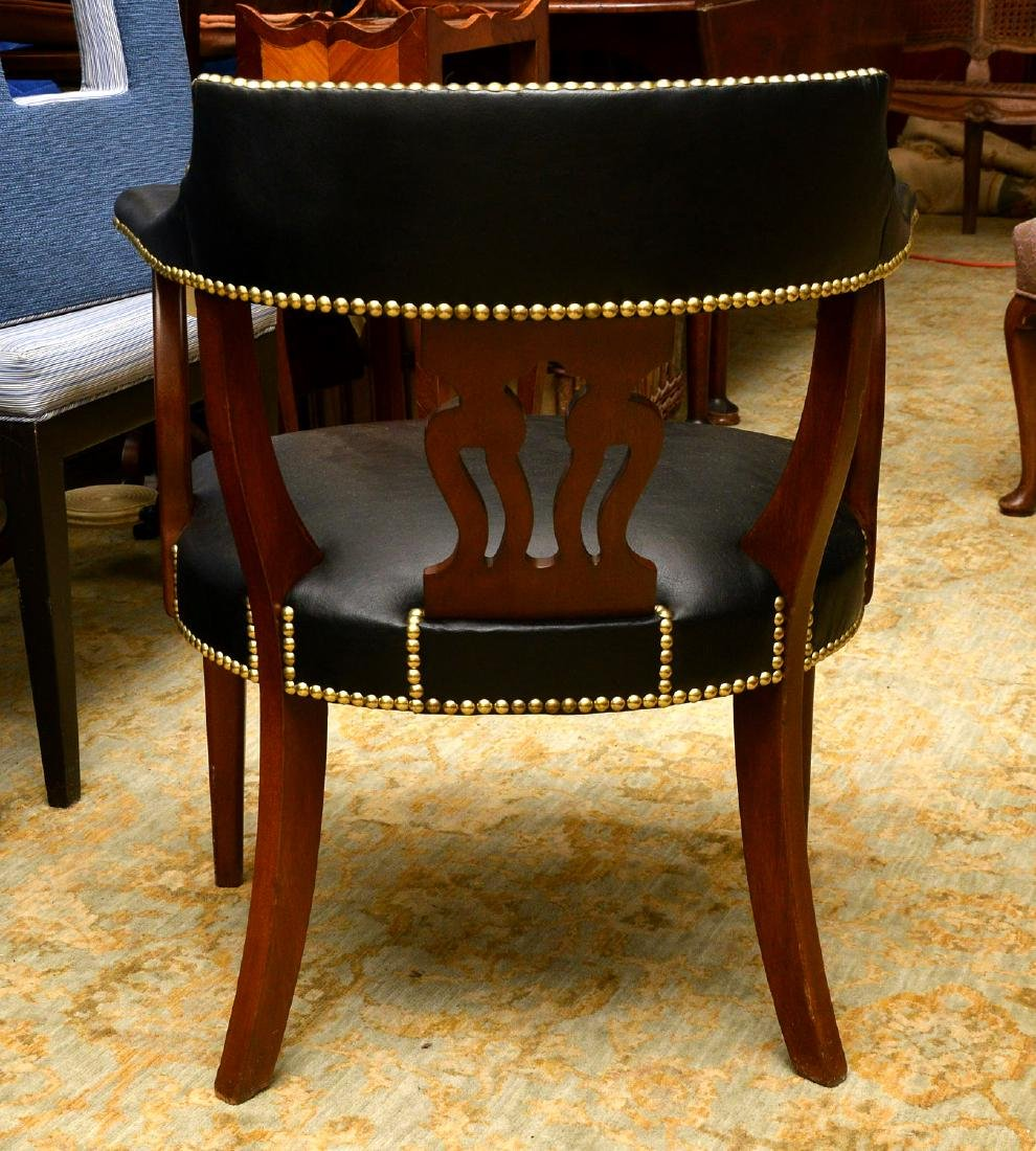 English captains chairs sourced by Jacques Grange - 7