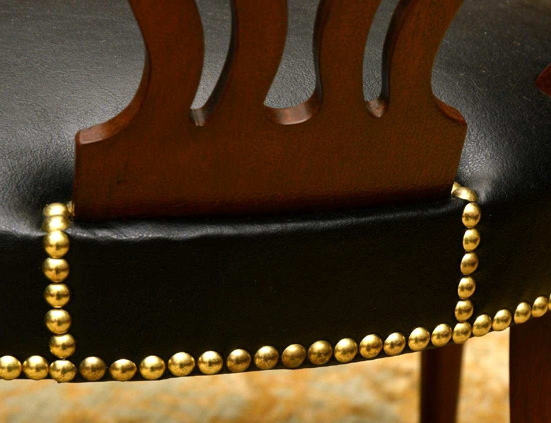 English captains chairs sourced by Jacques Grange - 8