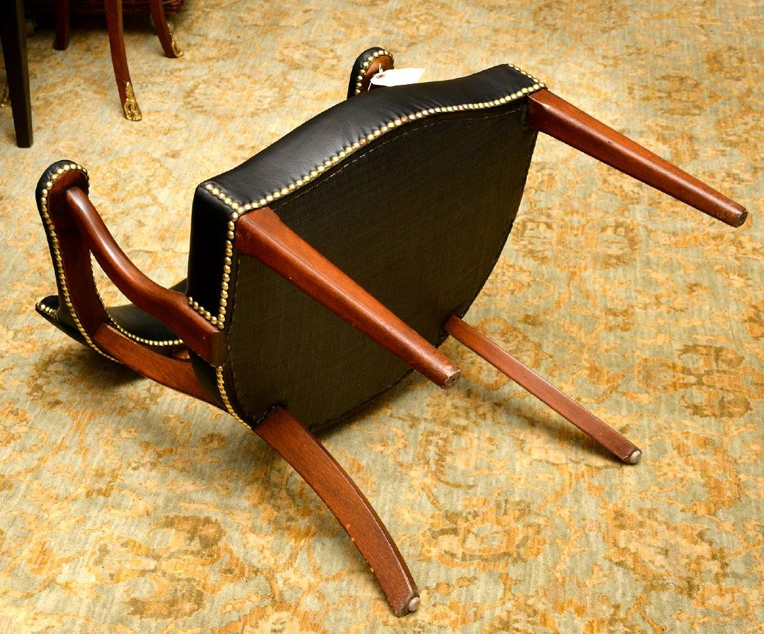 English captains chairs sourced by Jacques Grange - 9