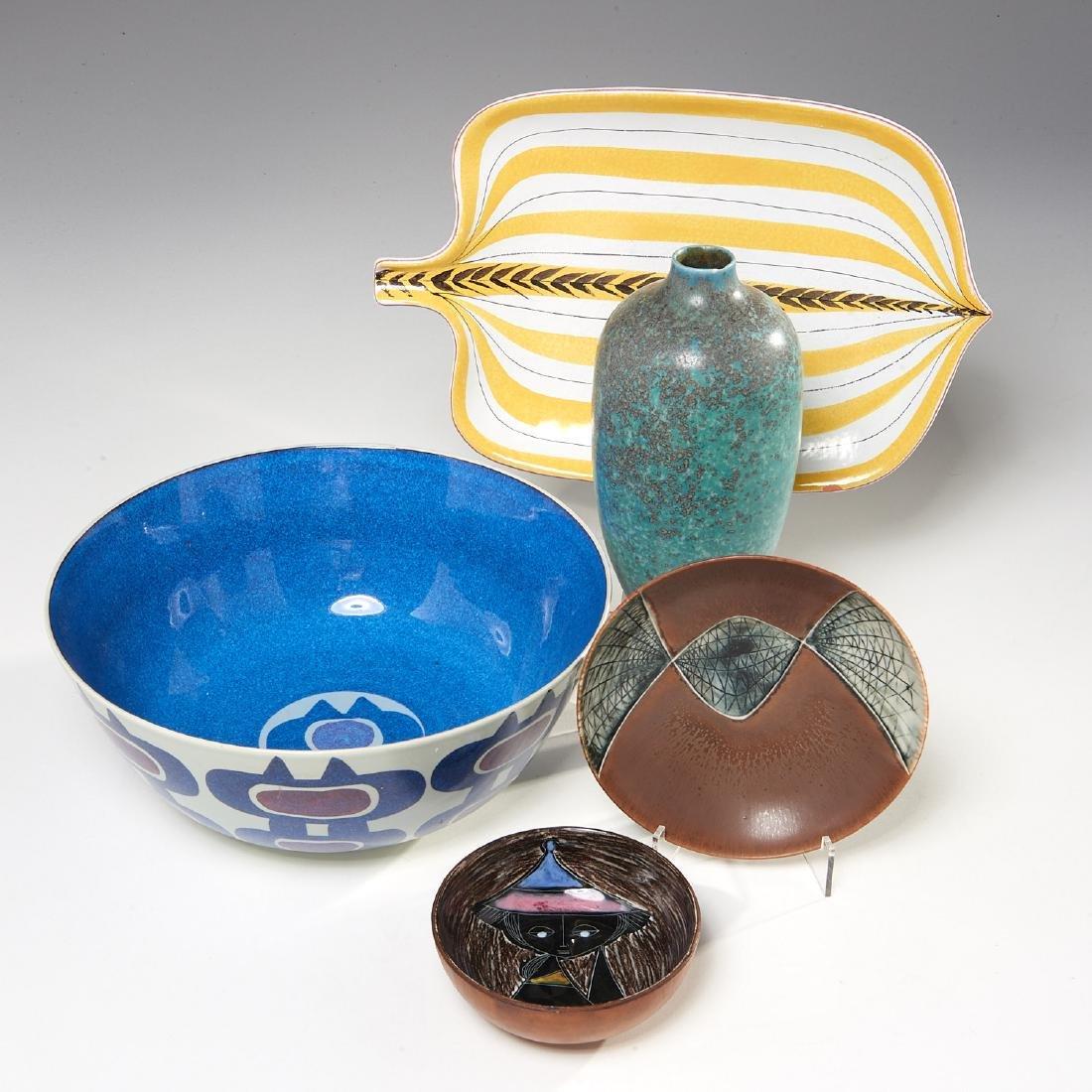 Group European Modernist ceramics - 2