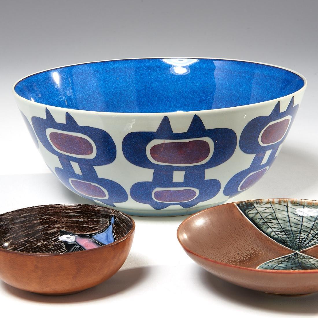 Group European Modernist ceramics - 3
