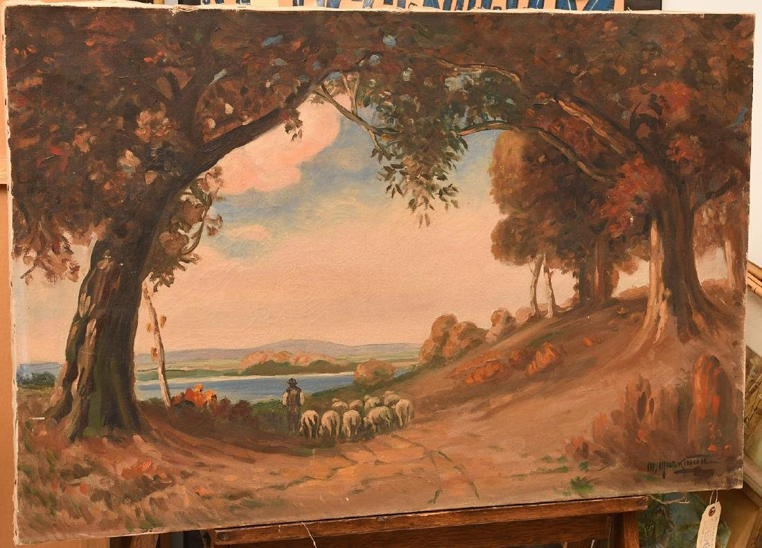 M. Markman, painting